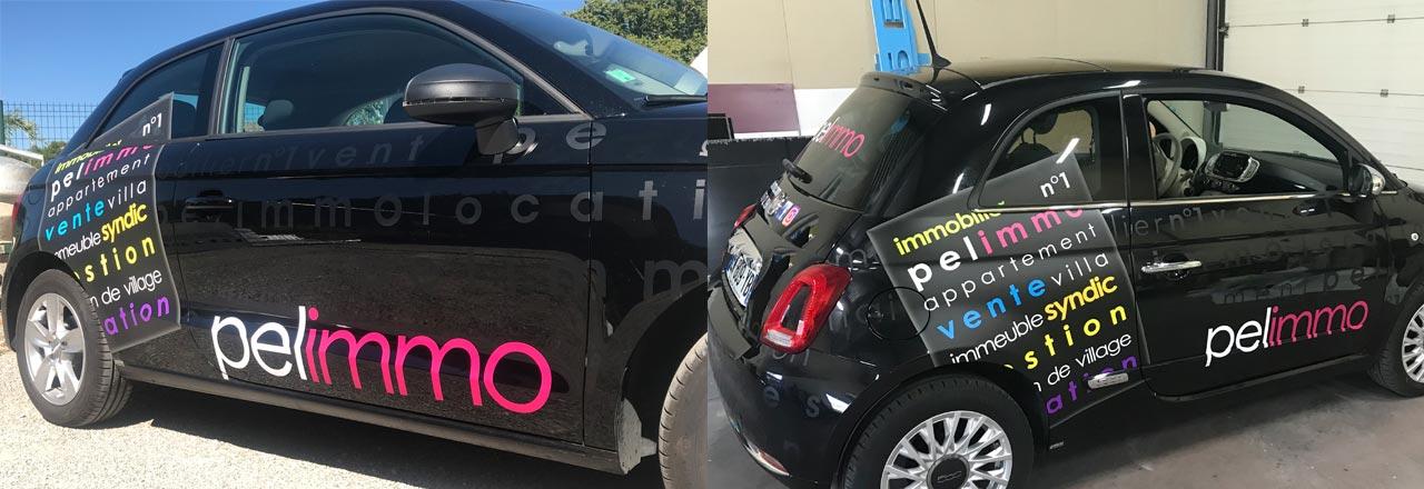 Marquage publicitaire v hicule l ger bouches du rh ne - Location de voiture salon de provence ...